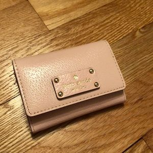 Authentic Kate Spade mini wallet/ID holder